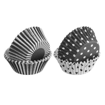 Mason Cash Set 100 Mixed Monochrome Cupcake Cases