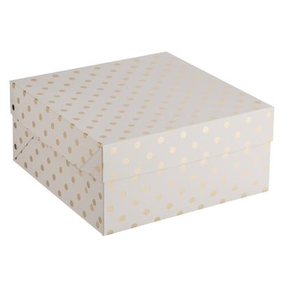 Mason Cash 12 Inch Metallic Cake Box
