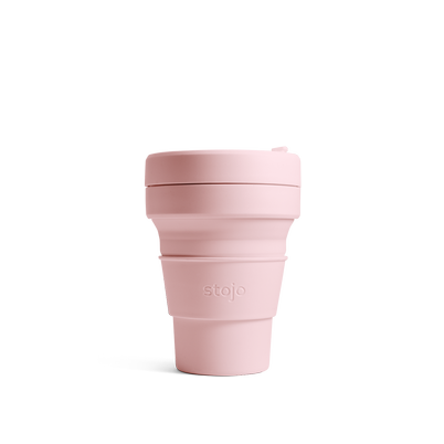 stojo Pocket Cup 12oz Carnation