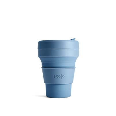 stojo Pocket Cup 12oz Steel