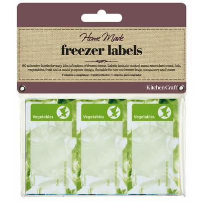 Home Made 60 Assorted Freezer Labels