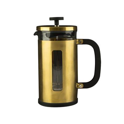 La Cafetiere Edited 3 Cup Pisa Brushed Gold