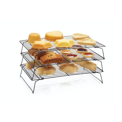 KitchenCraft Non-Stick 3 Tier Cooling Rack