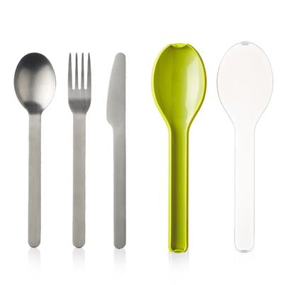 Mepal Cutlery 3pc Ellipse Lime