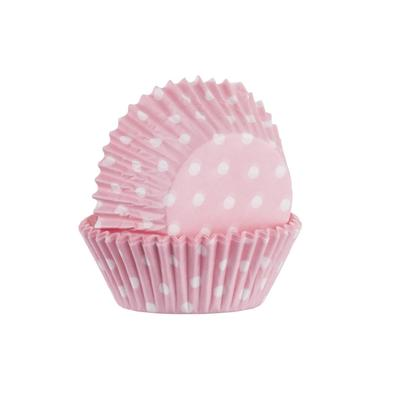 Mason Cash Set of 40 Pink Polka Dot Baking Cases