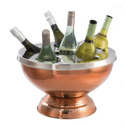 Epicurean Copper 6 Bottle Wine & Champagne Cooler Hammered