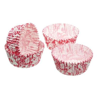 Sweetly Does It 60 Pink Floral Cupcake Cases