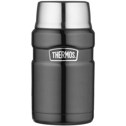 Thermos Stainless King 710ml Food Flask Gun Metal