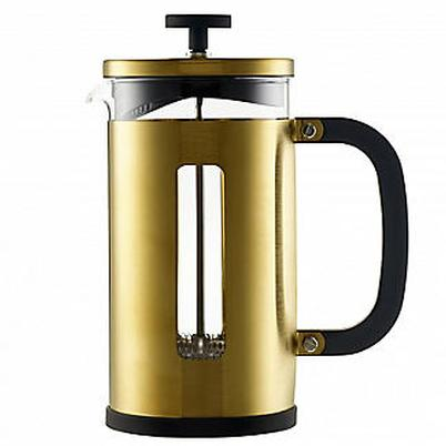 La Cafetiere Edited 8 Cup Pisa Brushed Gold