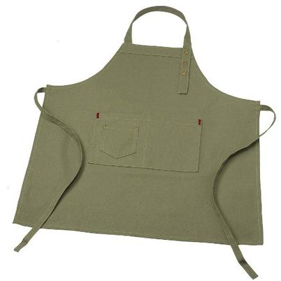 Green Canvas Apron