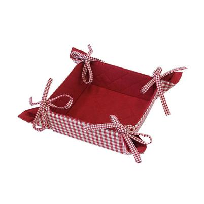 Walton & Co Auberge Red Bread Basket