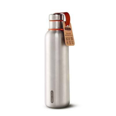 Black and Blum 750ml Insulated Water Bottle Large Stainless Steel Orange