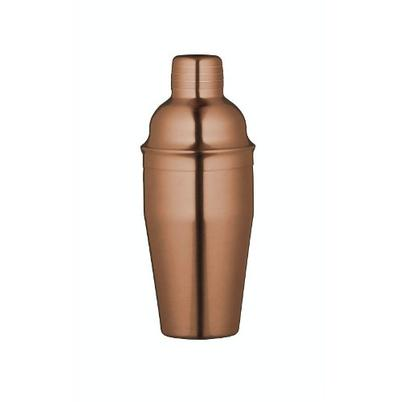 BarCraft Copper Finish Cocktail Shaker 500ml
