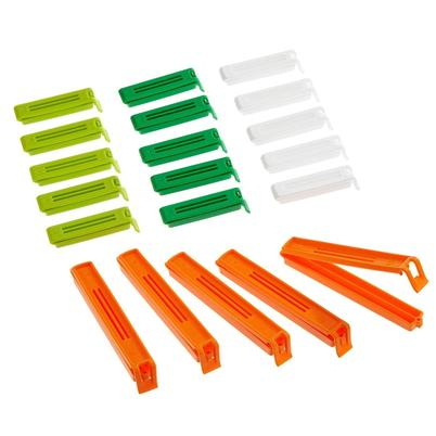 KitchenCraft Bag Clips 20pc Assorted Sizes
