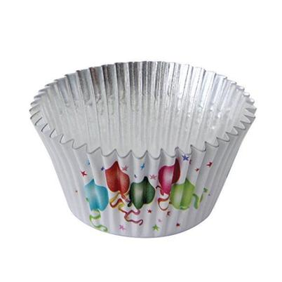 PME 30 Deep Foil Lined Cupcake Cases Balloons