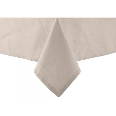 Ladelle Base Linen Look Taupe Tablecloth 1.5x2.25M