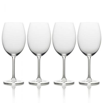 Mikasa Julie Set of 4 Bordeaux Wine Glasses