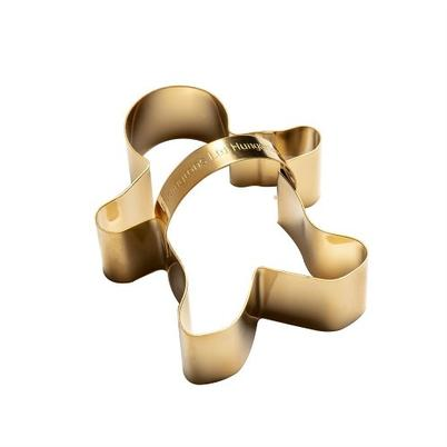 Eddingtons Brass Gingerbread Man Cookie Cutter