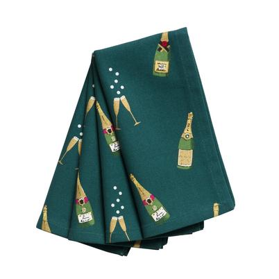 Sophie Allport Bubbles & Fizz Napkins Set of 4