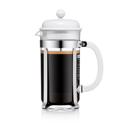 Bodum Caffettiere Coffee Maker White 8 Cup