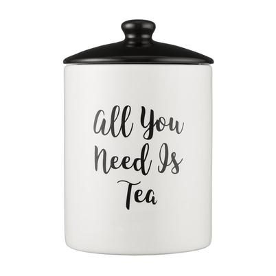 Price & Kensington Carnaby Script Tea Storage Jar