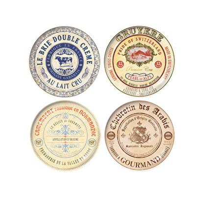 Creative Tops Gourmet Cheese Plates Set of 4