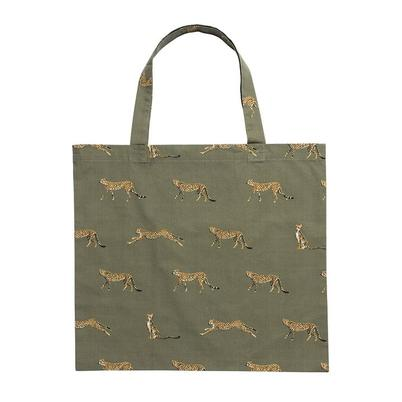 Sophie Allport Cheetah Folding Shopping Bag