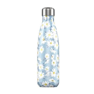 Chilly's 500ml Stainless Steel Water Bottle - Floral Daisy