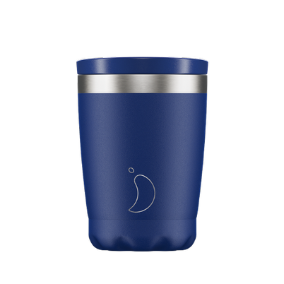 Chilly's Coffee Cup Matte Blue 340ml