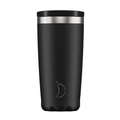 Chilly's Coffee Cup 500ml Monochrome Black
