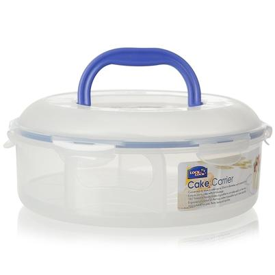 Lock & Lock Classic Round Cake Carrier with Cutting Guide