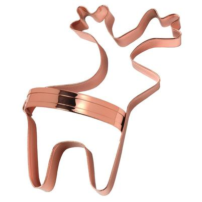Eddingtons Vintage Design Reindeer Copper Biscuit Cutter