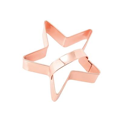 Eddingtons Vintage Copper Star Cookie Cutter