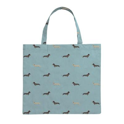 Sophie Allport Dachshund Folding Shopping Bag