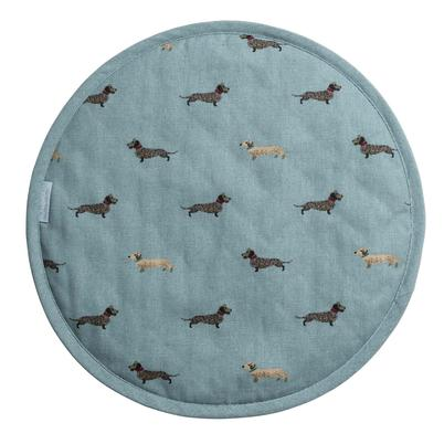 Sophie Allport Dachshund Circular Hob Cover