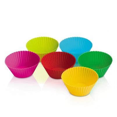 Zeal Bake & Serve 6 Silicone Cake Cases