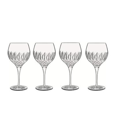 Luigi Bormioli Diamante Gin Glass Set of 4