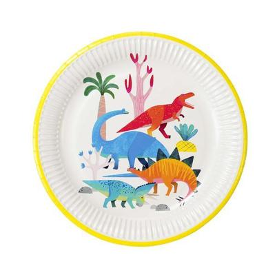 Talking Tables 8 Party Dinosaur Paper Plates