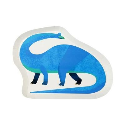 Talking Tables 12 Party Dinosaur Shaped Paper Plates