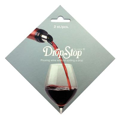 DropStop Wine Pouring Disc Drip Stopper 2pc