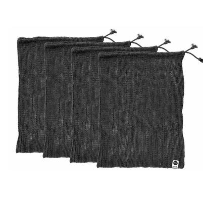 Ladelle ECO Recycled Charcoal Mesh Produce Set of 4 Bags