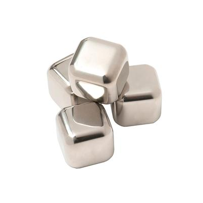 Epicurean Set of 4 Stainless Steel Whiskey Stones