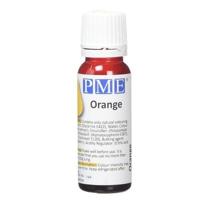 PME 100% Natural Food Colour Orange
