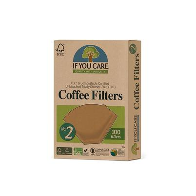 IF YOU CARE No.2 Unbleached Coffee Filters