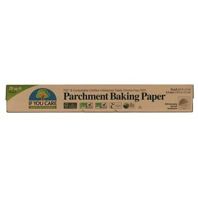 IF YOU CARE Unbleached Chlorine-Free Parchment Paper