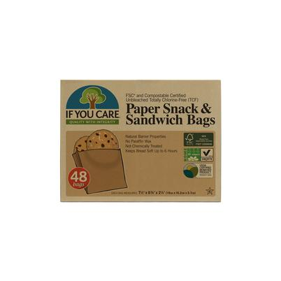 IF YOU CARE 48 Sandwich Bags FSC Certified