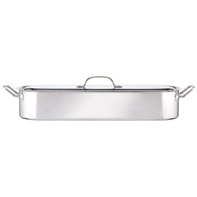 KitchenCraft Stainless Steel Fish Poacher 60cm