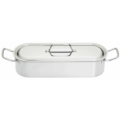 KitchenCraft Stainless Steel Fish Poacher 45cm