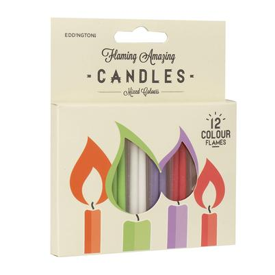 Eddingtons Flaming Amazing Candles 12pc