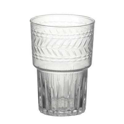 Etched Drinking Glass Penelope